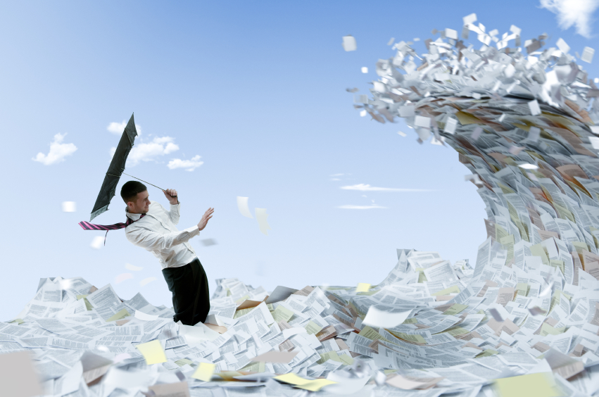 Commit to shredding your documents!
